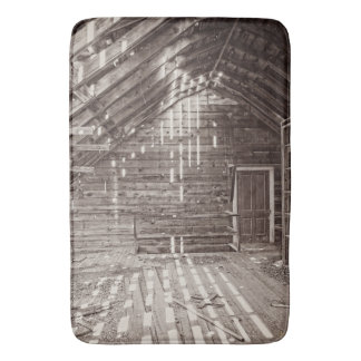 Inside the Past Bath Mat Western Barn