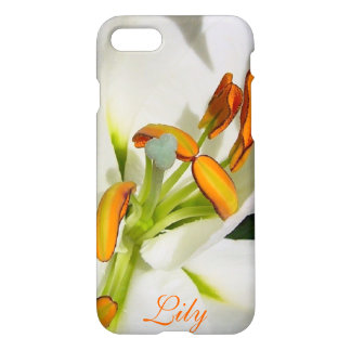 Inside The White Lily iPhone 7 case **