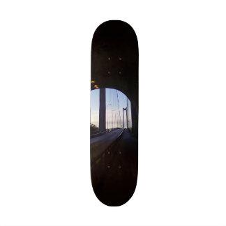Inside tunnel skate board
