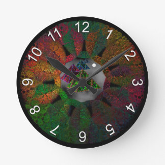 Inside Your Head Round Clock
