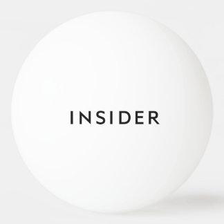 INSIDER Ping Pong Balls - White