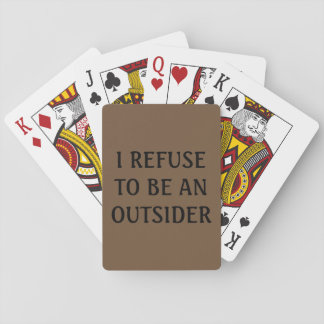 Insider Playing Cards