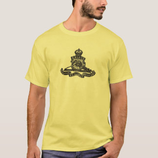 Insigne de casquette royal d'artillerie (T-shirt T-shirt