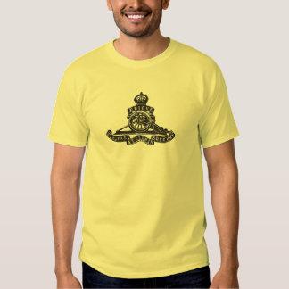 Insigne de casquette royal d'artillerie (T-shirt T-shirts