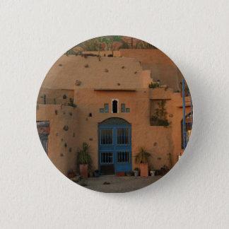 Insigne rond d'argile de porte de photo fraîche de macaron rond 5 cm