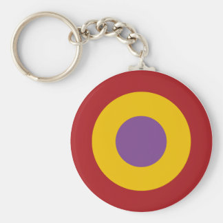 Insignia civil war, civil Spanish to war roundel Basic Round Button Keychain