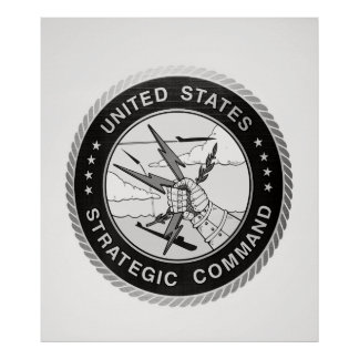 Insignia of STRATEGIC AIR COMMAND Poster