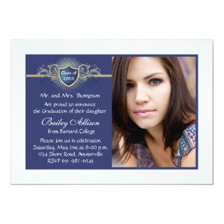 Insignia Photo Graduation Invitation