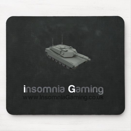 Insomnia Gaming Tank Mousemat. Mouse Pad