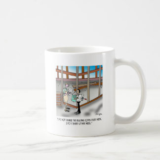 Inspector Cartoon 6382 Coffee Mug