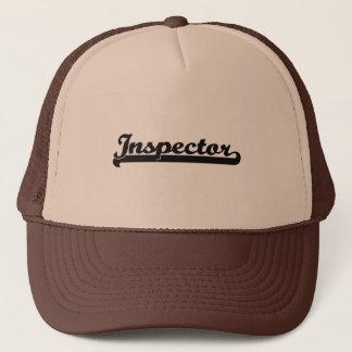 Inspector Classic Job Design Trucker Hat