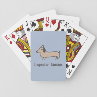 Inspector Sausage Playing Cards