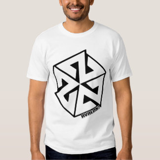Inspiracon White on Black. Tshirts