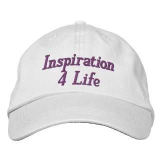 Inspiration 4 Life Personalized Adjustable Hat Baseball Cap