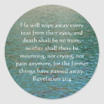 Inspiration and Strength Bible Verse Revelation 21 Stickers
