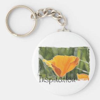 Inspiration Basic Round Button Keychain