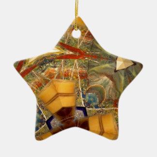 Inspiration Ceramic Star Ornament