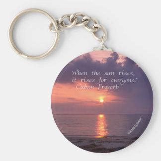 Inspiration - Chesapeake Bay Sunrise Keychain