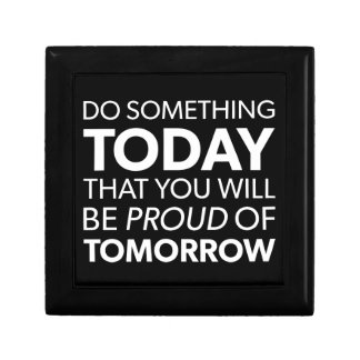 Inspiration, Do Something Today, Be Proud Tomorrow Gift Box