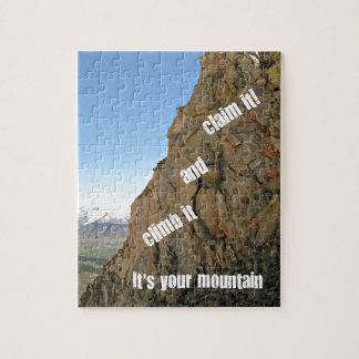 Inspiration for courage jigsaw puzzle