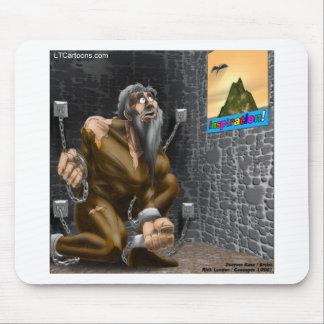 Inspiration - Funny Motivation Cartoon Mousepads