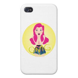 Inspiration Illustration: OMG Girl Case For The iPhone 4