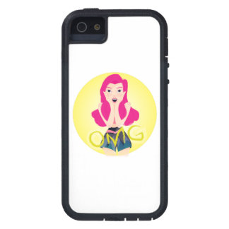 Inspiration Illustration: OMG Girl Case For The iPhone 5
