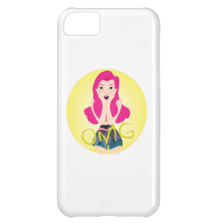 Inspiration Illustration: OMG Girl Cover For iPhone 5C