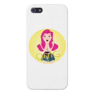Inspiration Illustration: OMG Girl iPhone 5/5S Case