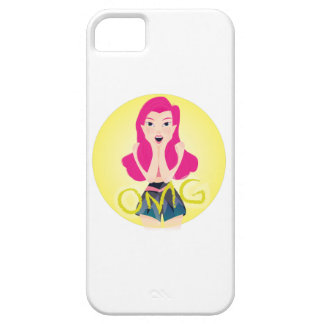 Inspiration Illustration: OMG Girl iPhone 5 Case