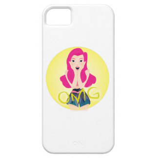 Inspiration Illustration: OMG Girl iPhone 5 Cover