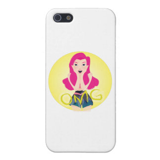Inspiration Illustration: OMG Girl iPhone 5 Covers