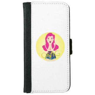 Inspiration Illustration: OMG Girl iPhone 6 Wallet Case