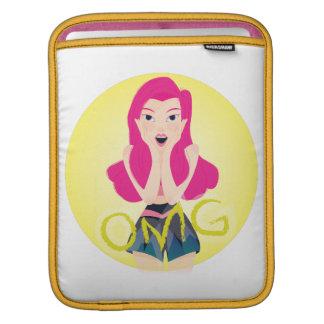 Inspiration Illustration: OMG Girl Sleeves For iPads