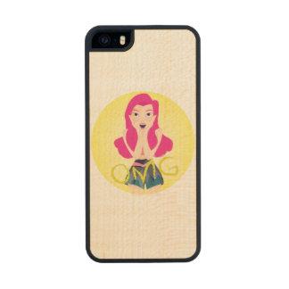 Inspiration Illustration: OMG Girl Wood iPhone SE/5/5s Case