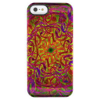 "Inspiration Mandala - ""Peace"" Clear iPhone SE/5/5s Case"