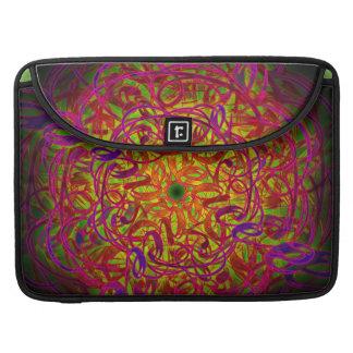 "Inspiration Mandala - ""Peace"" Sleeve For MacBook Pro"