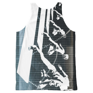 Inspiration or Inspirational Ideas as a Business All-Over-Print Tank Top