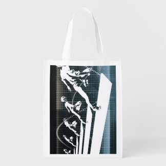 Inspiration or Inspirational Ideas as a Business Reusable Grocery Bag