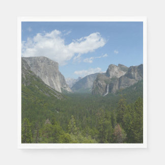 Inspiration Point in Yosemite National Park Disposable Napkins