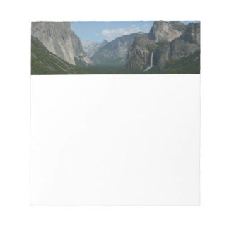 Inspiration Point in Yosemite National Park Notepad