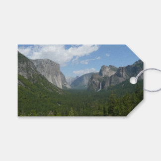 Inspiration Point in Yosemite National Park Pack Of Gift Tags