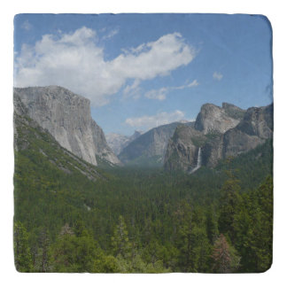 Inspiration Point in Yosemite National Park Trivet