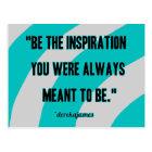 Inspiration Postcard