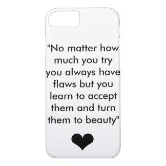 Inspiration Quote 1 iPhone 7 Case