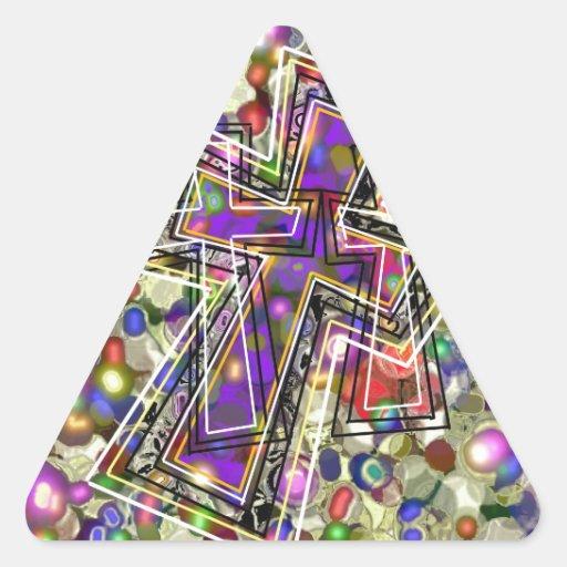 Inspiration ! triangle stickers