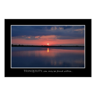Inspiration Tranquility Poster 36 x 24