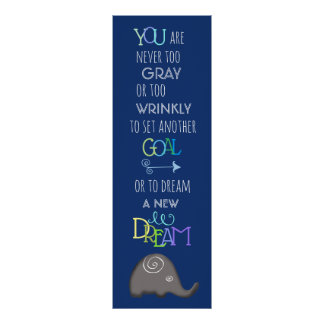 Inspirational 50plus Creative Spiral Elephant Poster