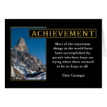 Inspirational Achievement Greeting Cards