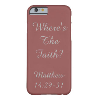 Inspirational and Bold Barely There iPhone 6 Case